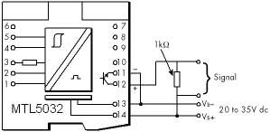 MTL5032 output wiring diagram