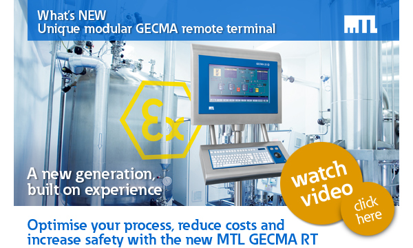 What's new – Unique modular GECMA remote terminal
