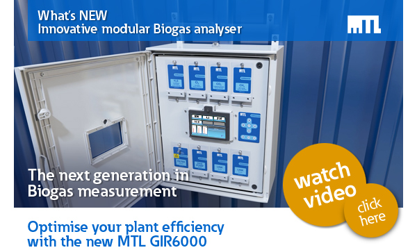 What's new – Innovative modular Biogas analyser