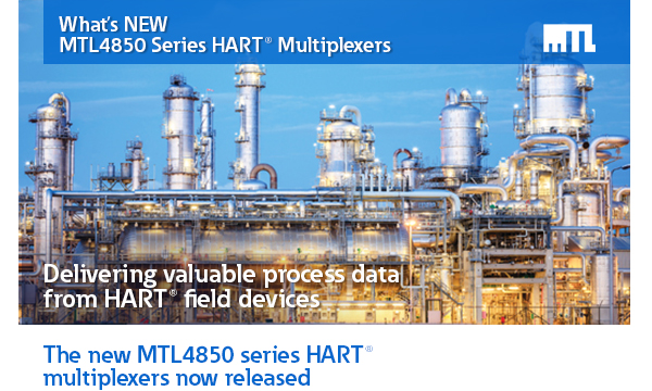 What's NEW - MTL4850 Series HART® Multiplexers
